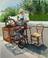 machine antique du rémouleur rempailleur à Royan